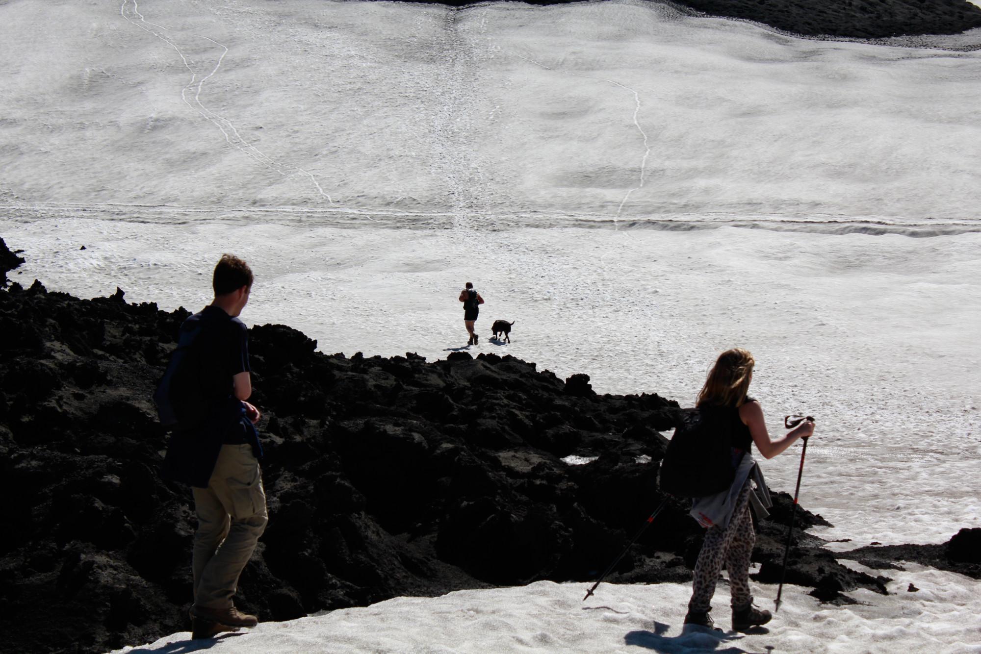 Færð á Fimmvörðuhálsi 16.06.16